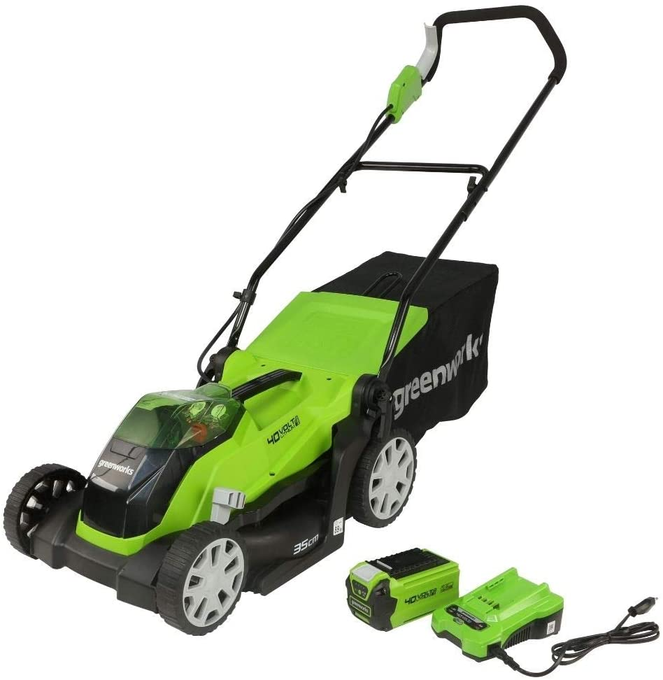 Greenworks Cordless Electric Lawn Mower