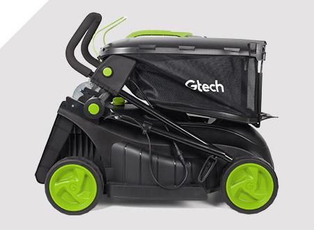 Gtech Cordless Lawnmower 2.0 storage