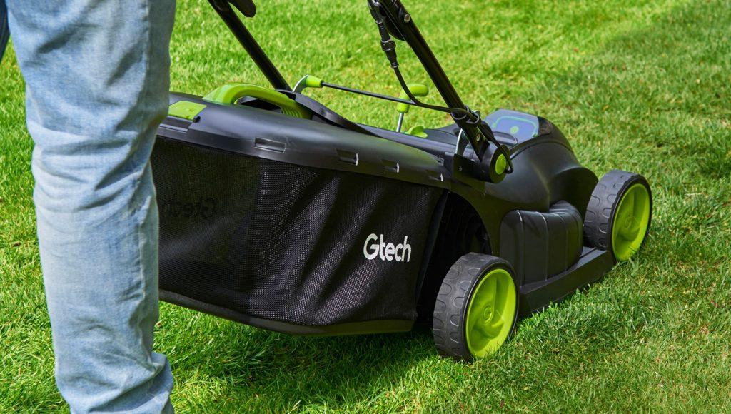 Gtech Cordless Lawnmower 2.0 grass box