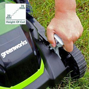 mower Cutting height