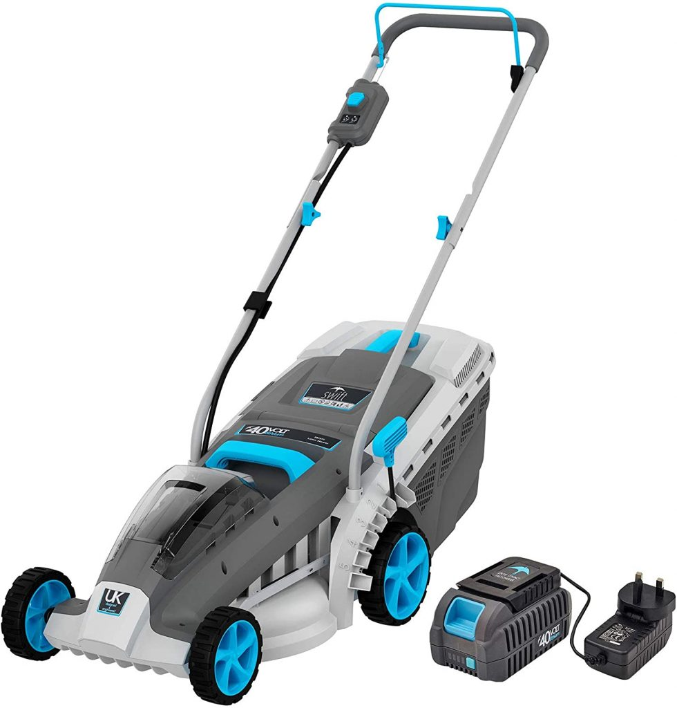swift EB137CD2 40V Cordless Lawn Mower review