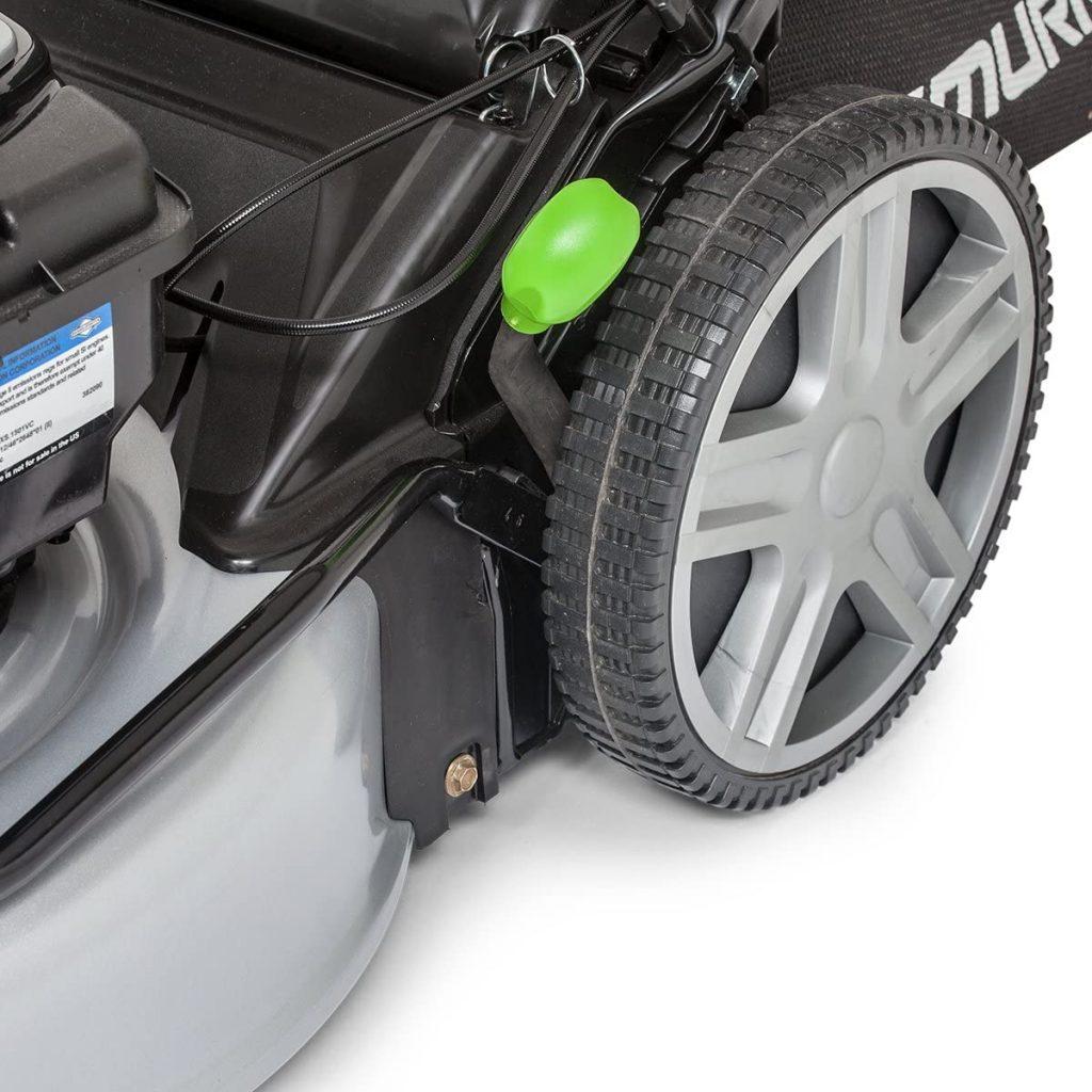 Murray EQ 400 wheels cutting height