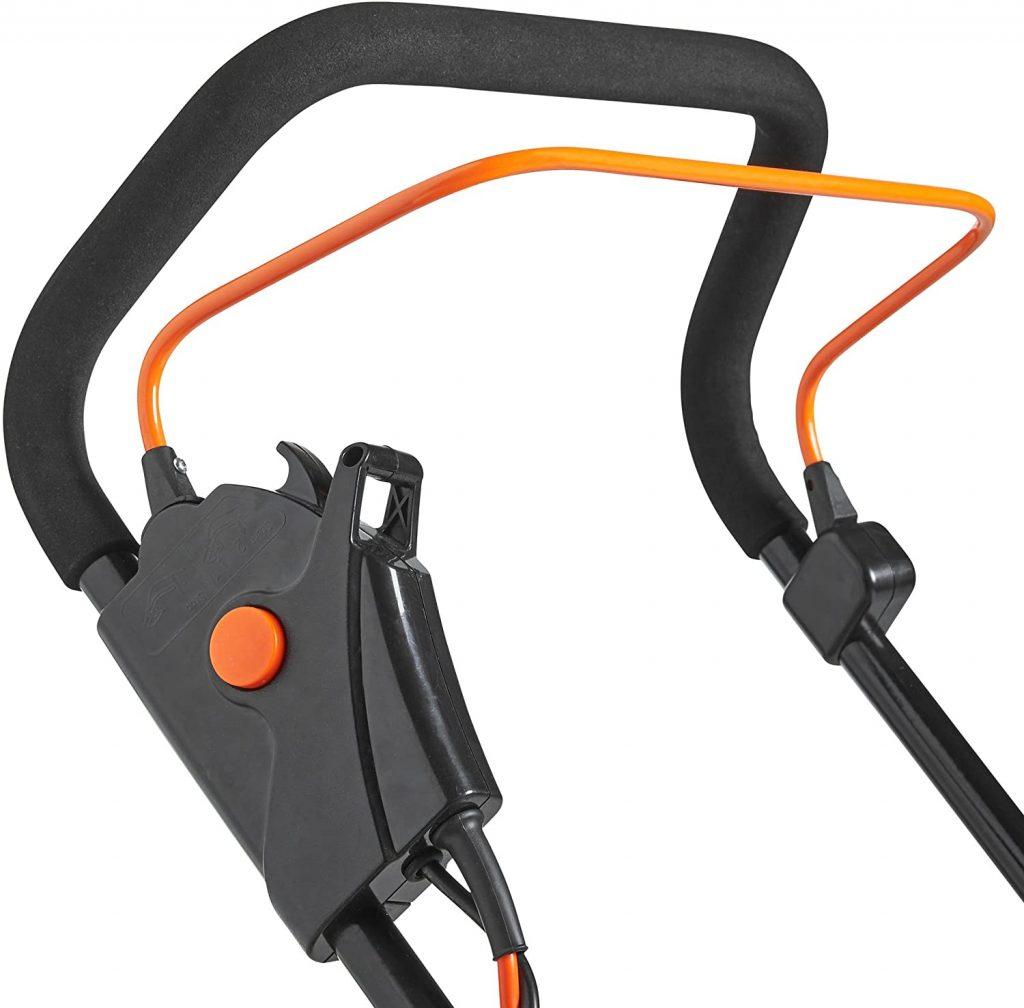 VonHaus Electric Rotary Lawnmower 1600W handle