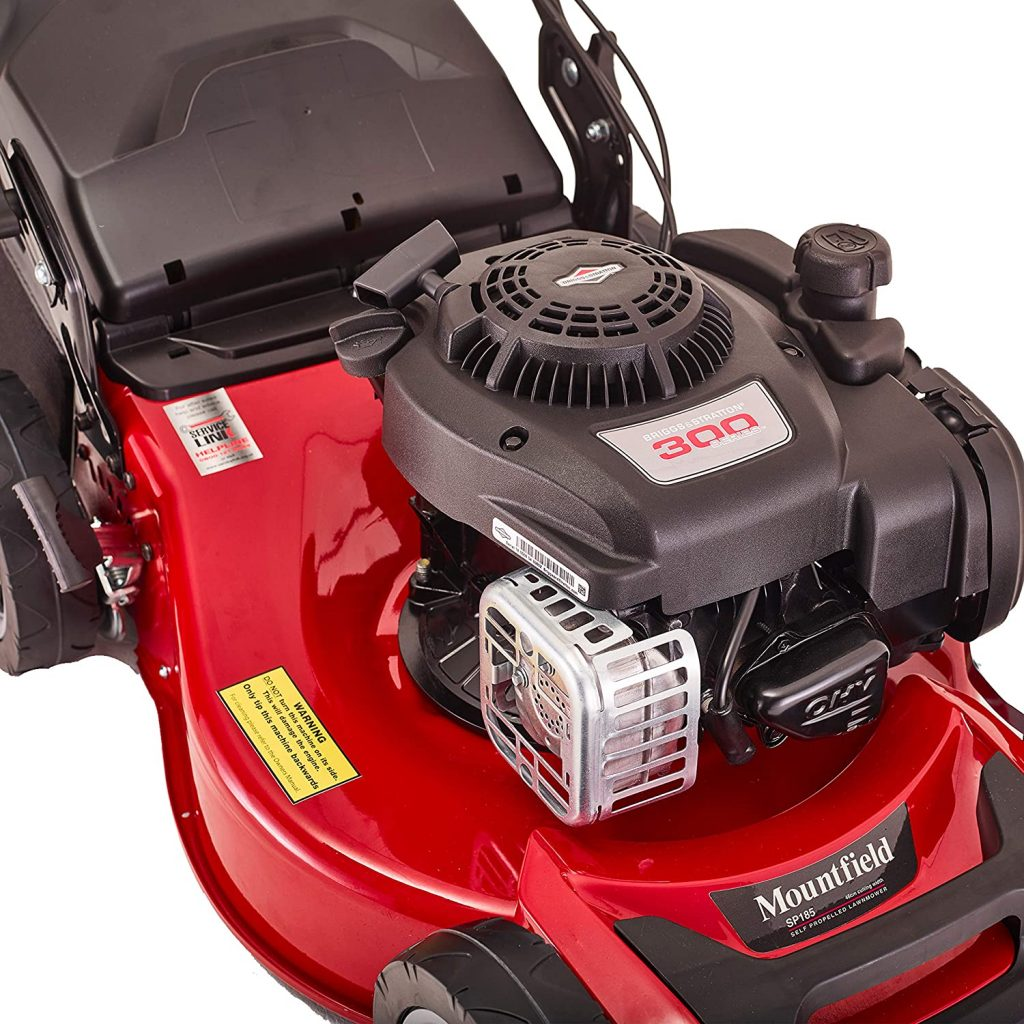 Mountfield HP185 engine