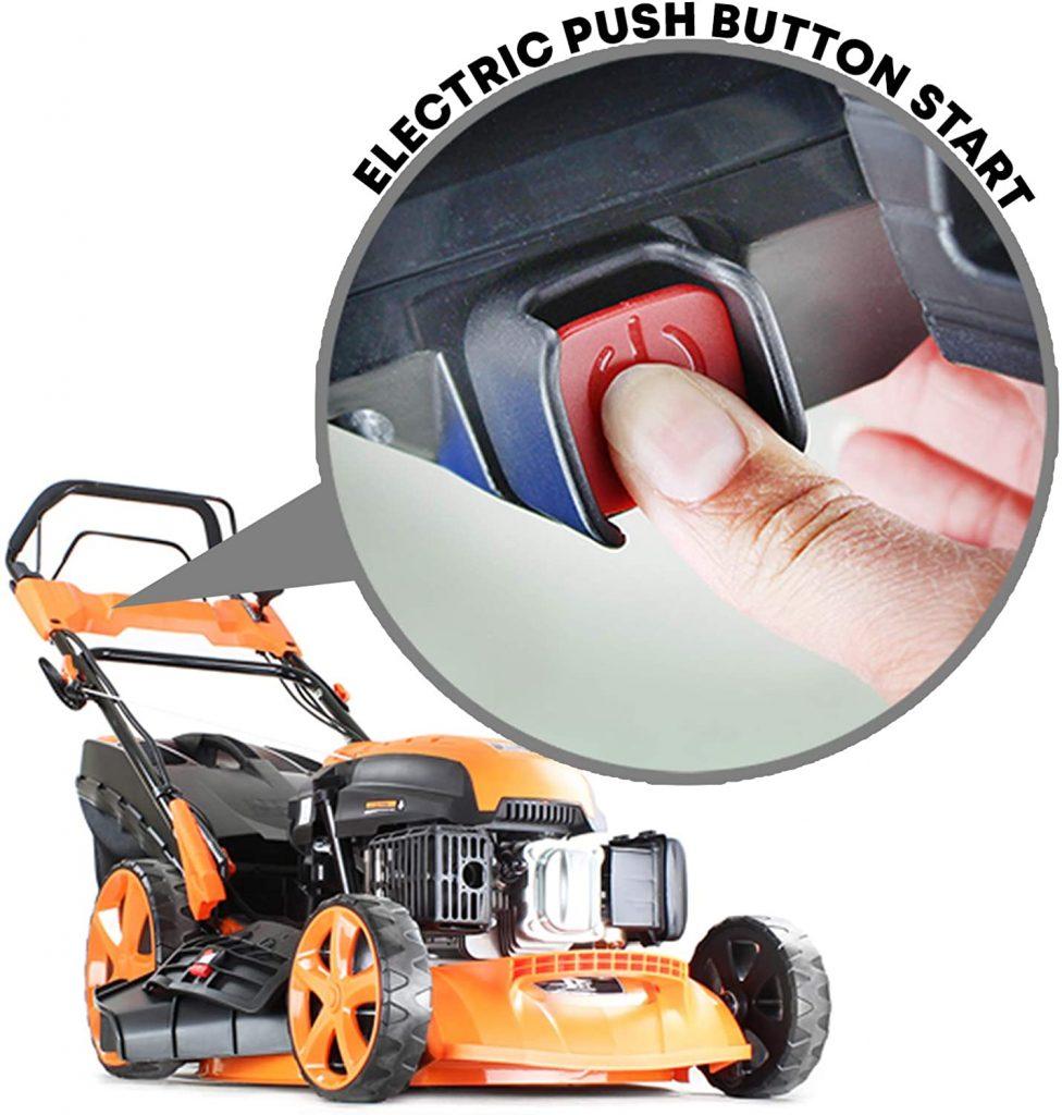 P1PE P5100SPE Petrol lawn mower review